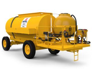 ABAPU 8500 L com reservatório 1000 L para calda e pré diluição de 50 L