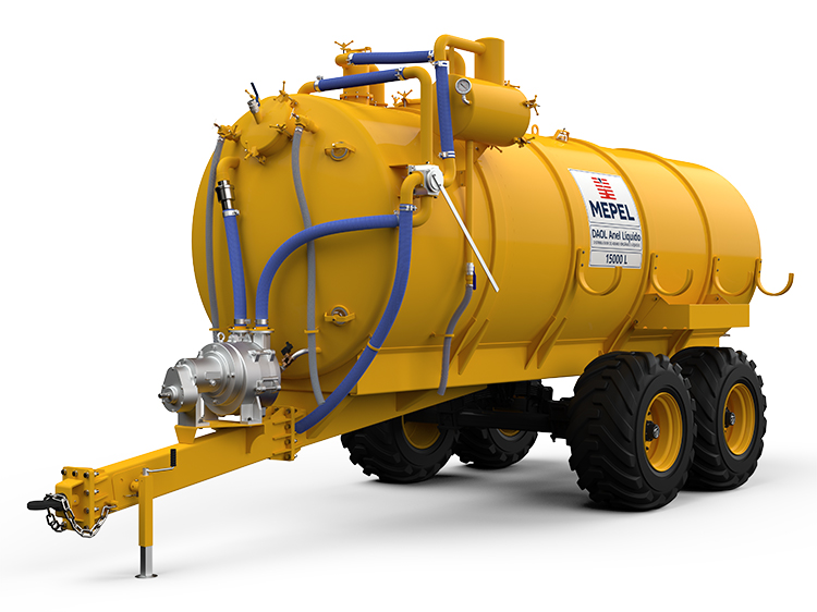 Distribuidor de Adubo Orgânico Líquido com Bomba Vácuo Anel Líquido
