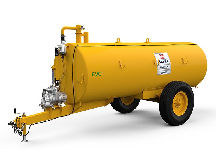 Distribuidor de Adubo Orgânico Líquido com Bomba Vácuo Compressor