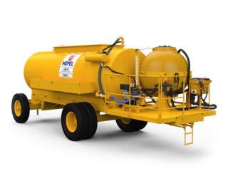 ABAPU 10500 L com reservatório 1000 L para calda e pré diluição de 50 L