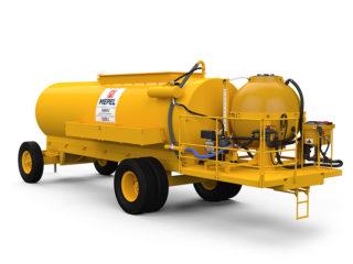 ABAPU 12500 L com reservatório 1000 L para calda e pré diluição de 50 L