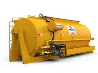 ABAPU ROLL ON/OFF 15500 com Motobomba Diesel 10 cv
