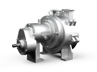 Bomba de vácuo e pressão de anel líquido 8 m³/min de ar.